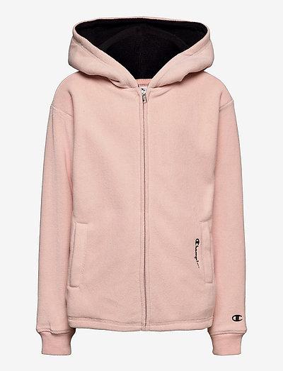 Hooded Full Zip Sweatshirt - kapuzenpullover - peachy keen