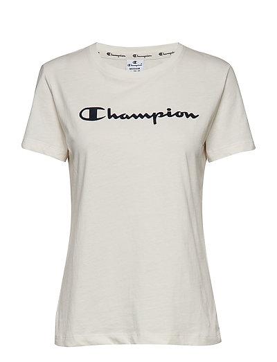 Crewneck T-Shirt - VAPOROUS GRAY