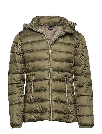 Hooded Jacket Gefütterte Jacke Grün CHAMPION