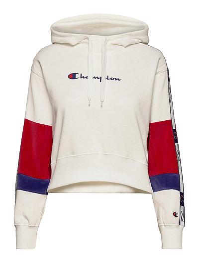 Hooded Sweatshirt Hoodie Pullover Weiß CHAMPION