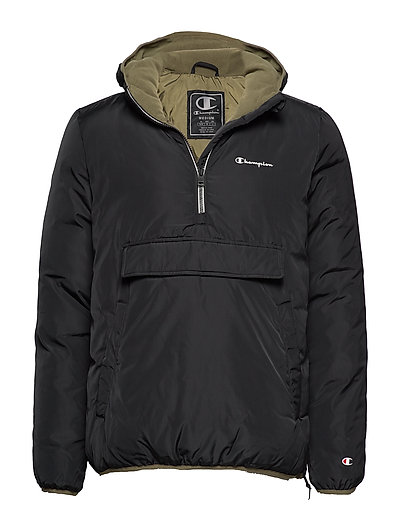 CHAMPION Hooded Jacket Outerwear Jackets Anoraks Schwarz CHAMPION