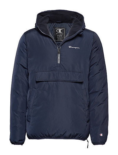 CHAMPION Hooded Jacket Outerwear Jackets Anoraks Blau CHAMPION