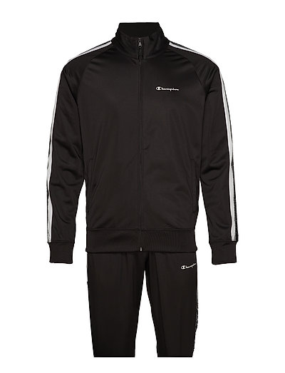 CHAMPION Tracksuit Sweat-shirt Pullover Schwarz CHAMPION