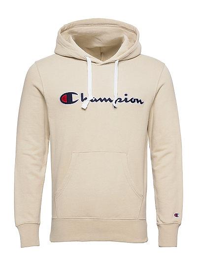 Hooded Sweatshirt Hoodie Pullover Creme CHAMPION