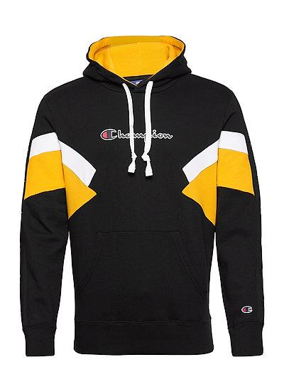 Hooded Sweatshirt Hoodie Pullover Schwarz CHAMPION
