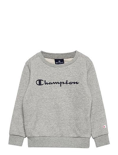 Crewneck Sweatshirt - sweatshirts - gray melange light
