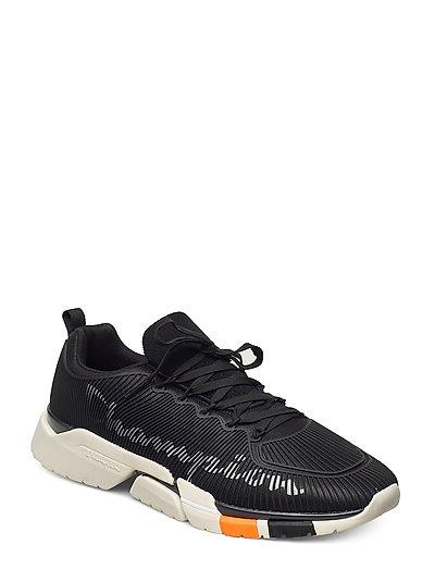 Low Cut Shoe Lander Cage Niedrige Sneaker Schwarz CHAMPION