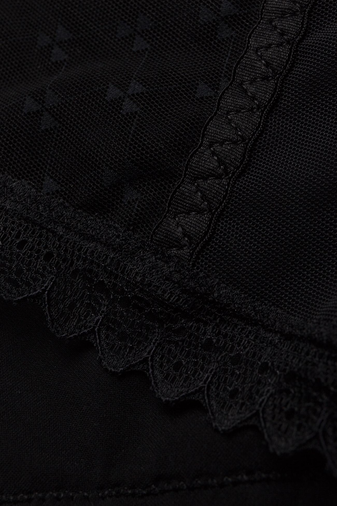 Chantelle Courcelles Boxer Short - Trosor Black