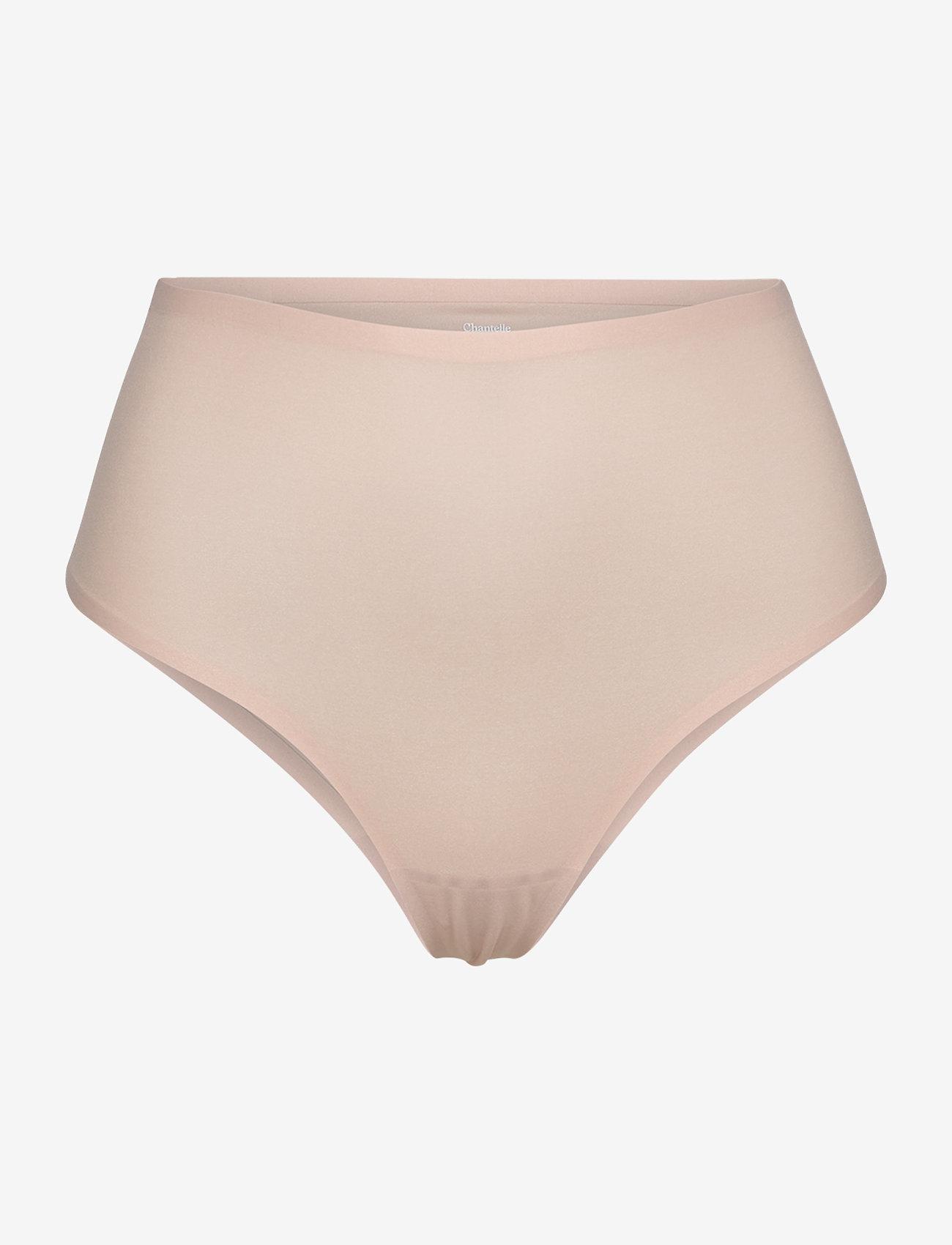 CHANTELLE - Soft Stretch High Waist Thong - broekjes - golden beige - 0
