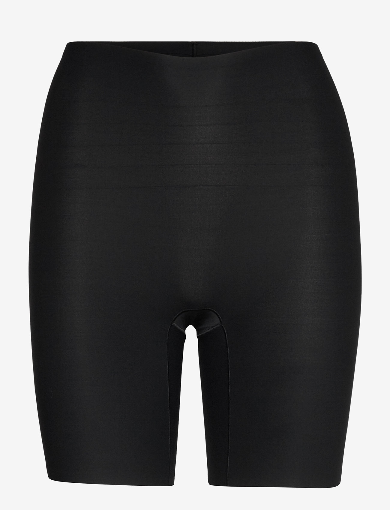 CHANTELLE - Soft Stretch High Waist Mid-Thigh Short - bottoms - black - 1