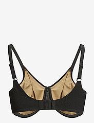 CHANTELLE - C Magnifique Underwired Support bra - helkupa bh:ar - black - 2