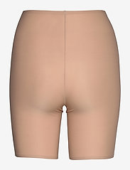CHANTELLE - Soft Stretch High Waist Mid-Thigh Short - bottoms - nude - 1