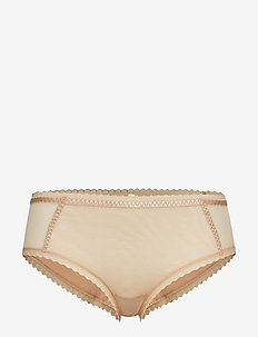 COURCELLES BOXER SHORT - culotte taille basse - nude