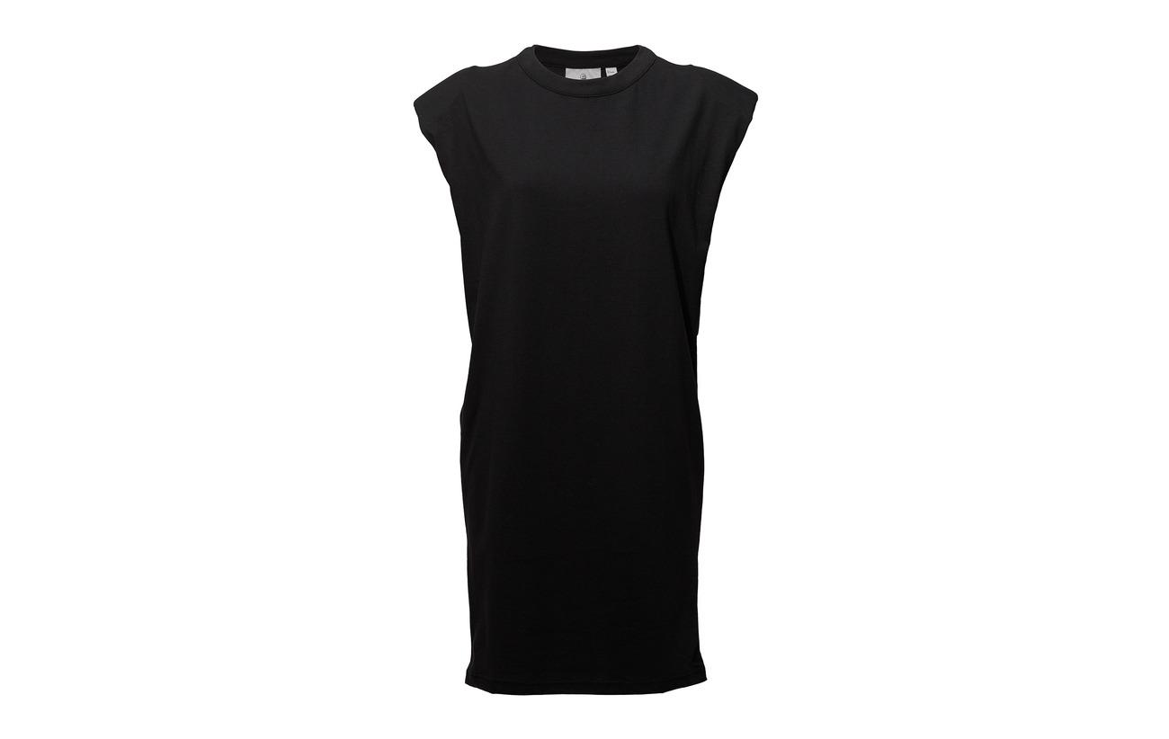 Cheap Dress Black Organiccotton Logo Syntax Monday 100 Kick XHHrBRa