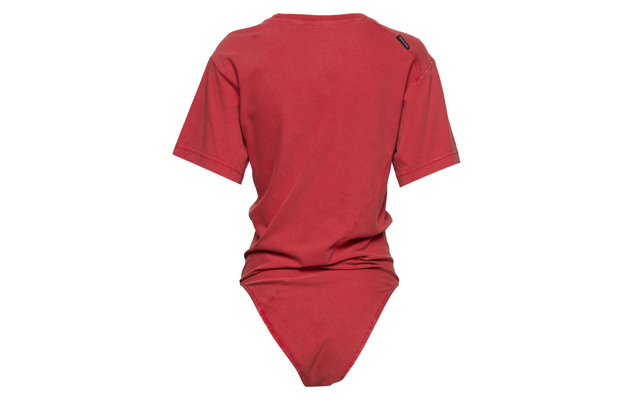 Cheap Bodysuit 100 Shock Red Monday Coton Bio rpqEwrR8