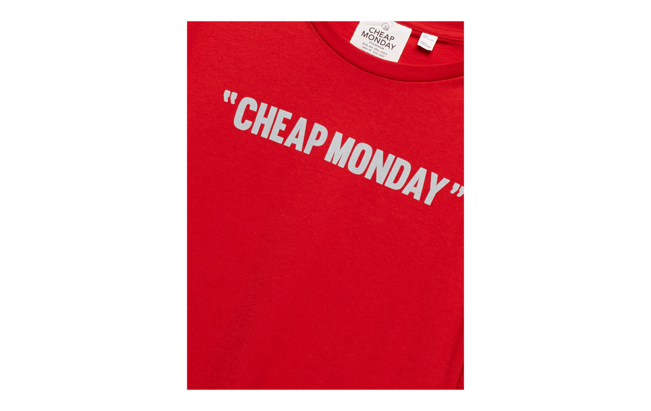 Red Cheap Tee Review Standard Monday qwvPv1X