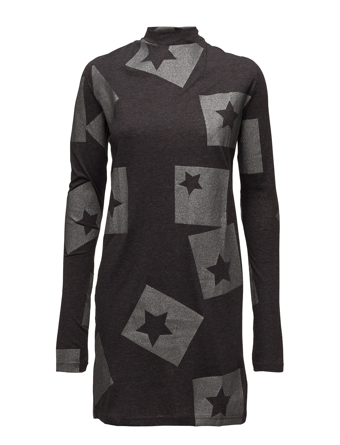 Cheap Monday Strict dress Cut Star - DARK GREY MELANGE