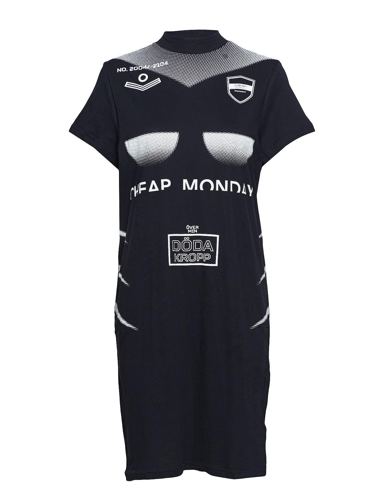 Cheap Monday Smash dress Off sport - BLACK