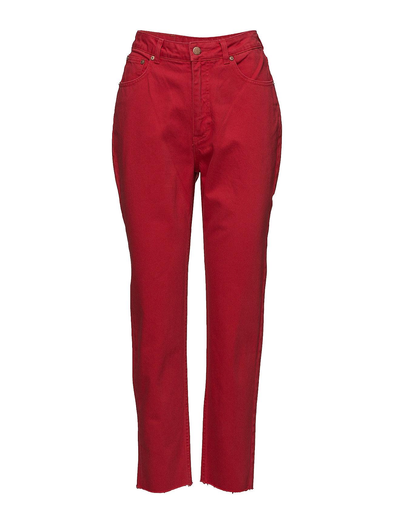 Cheap Monday kvinnor OD röd Jeans