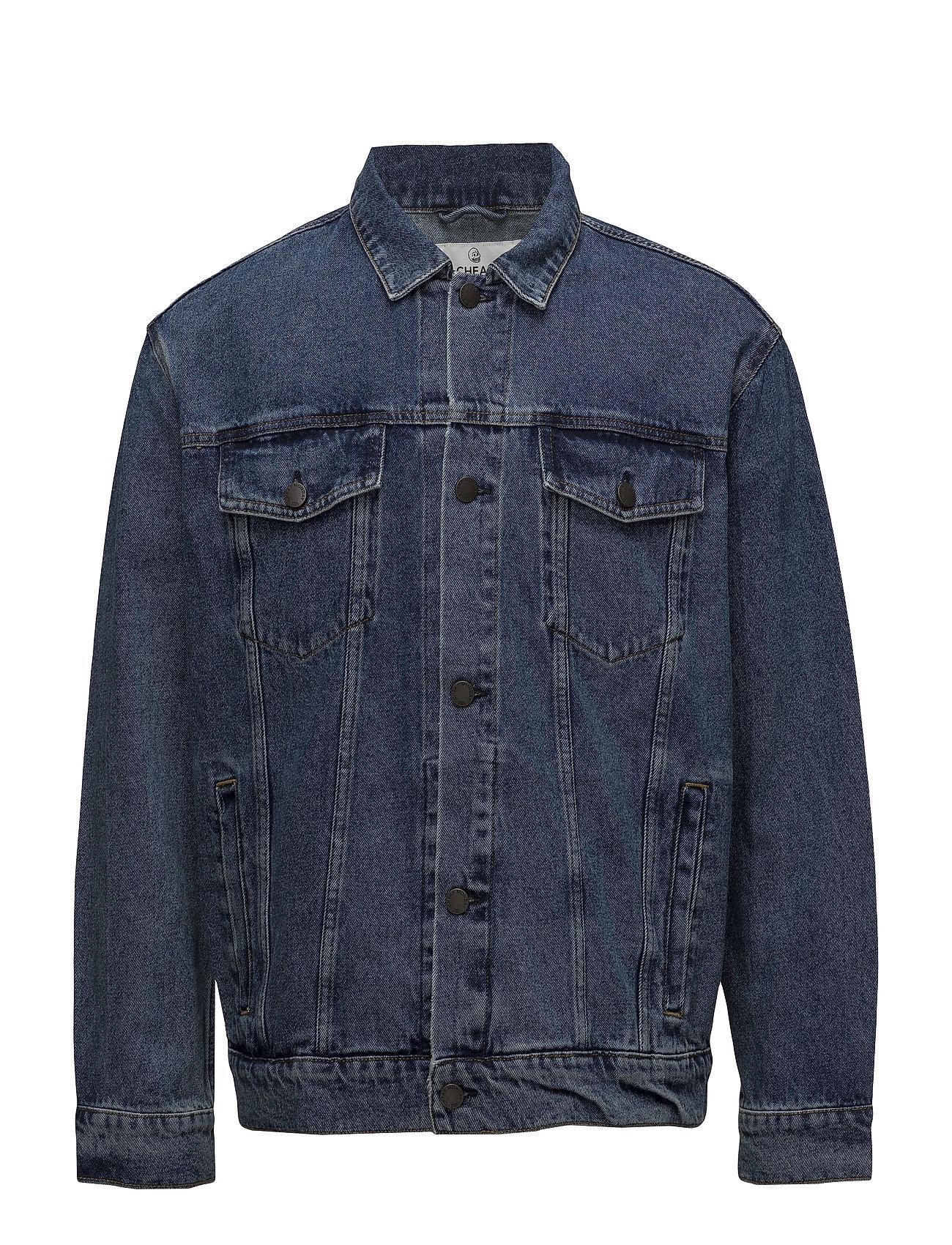 Cheap Monday Upsize Jacket Norm Core - BLUE