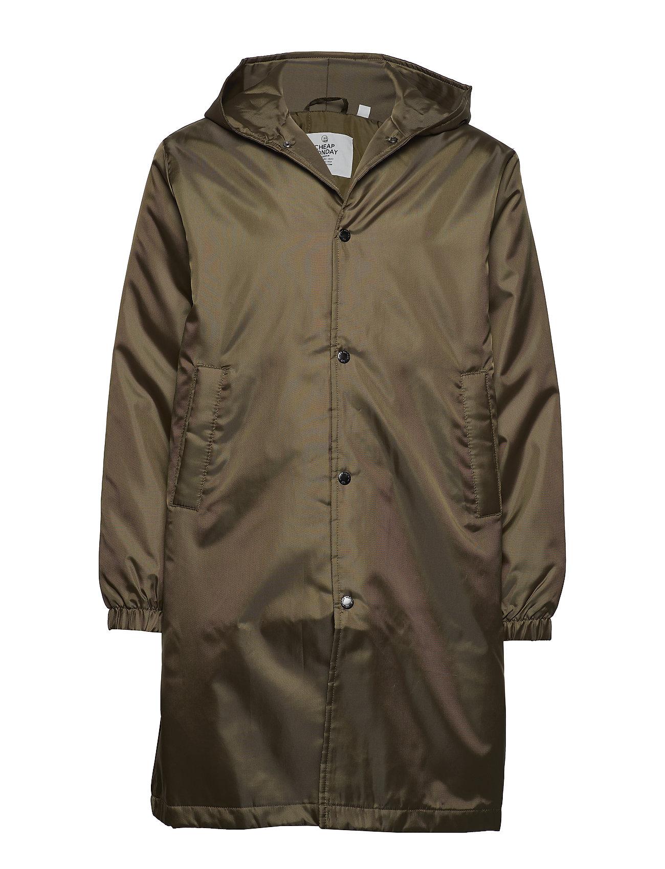 Cheap Monday Core coat Echologo - KHAKI GREE