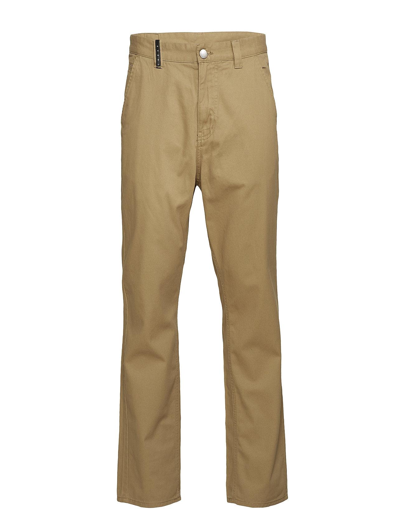 Cheap Monday Neo trousers Light tan - LIGHT TAN