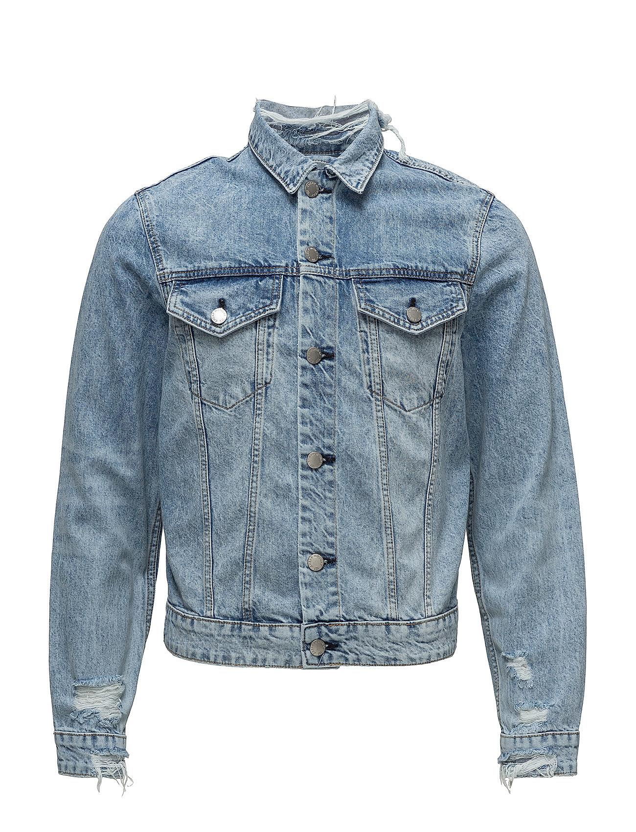 48123772 Cheap Monday denim jakker – Legit Jacket Pixel Blue til herre i Blå ...