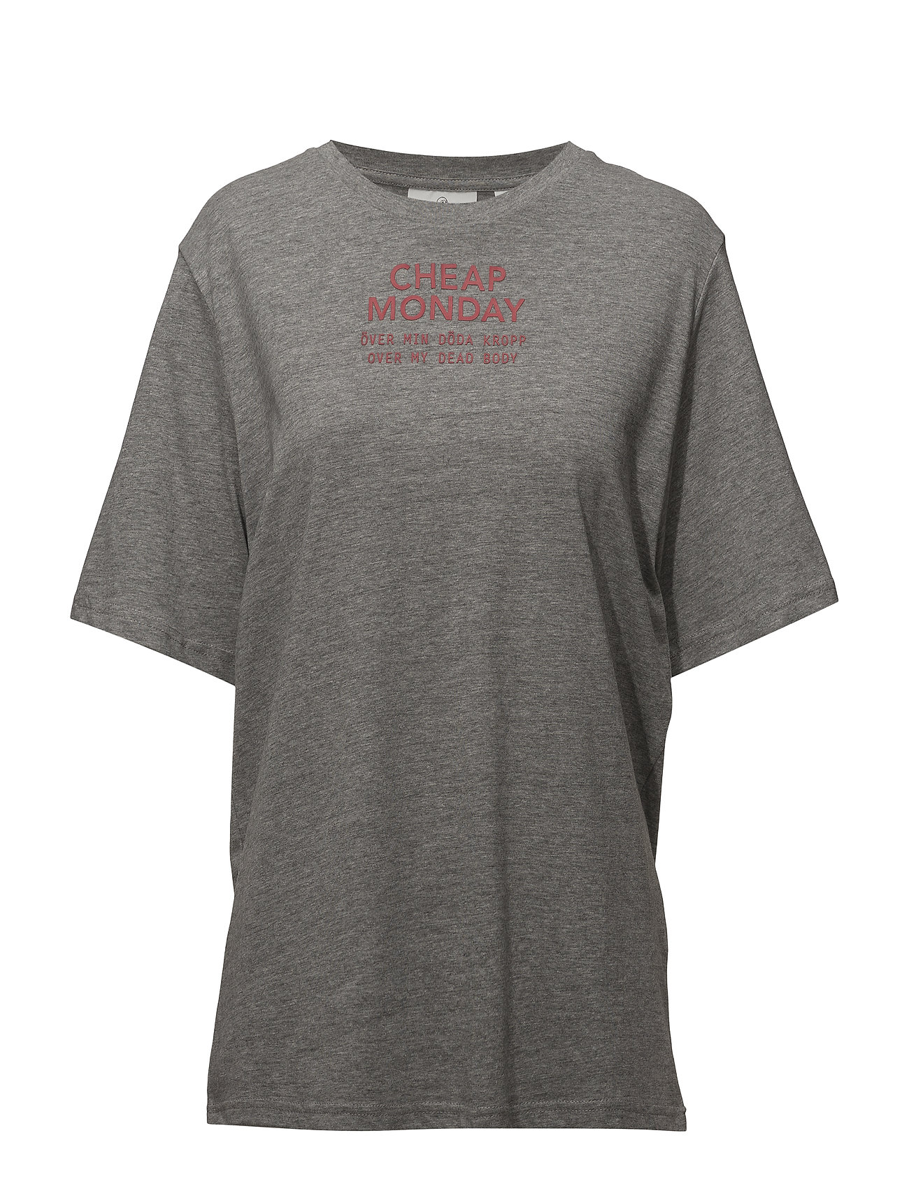 Cheap Monday Perfect tee Chp mnd sender - GREY