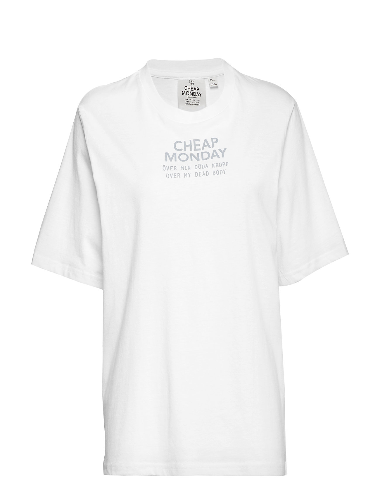 Cheap Monday Perfect tee Chp mnd sender - WHITE