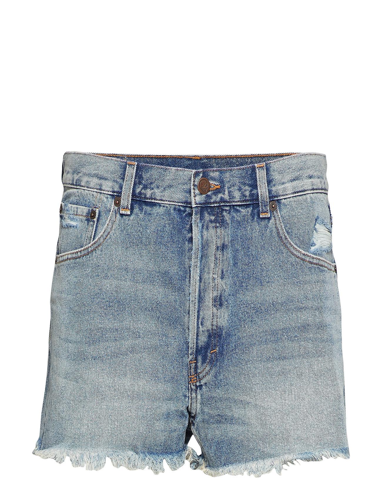 Cheap Monday Sound Shorts Hex Blue - BLUE
