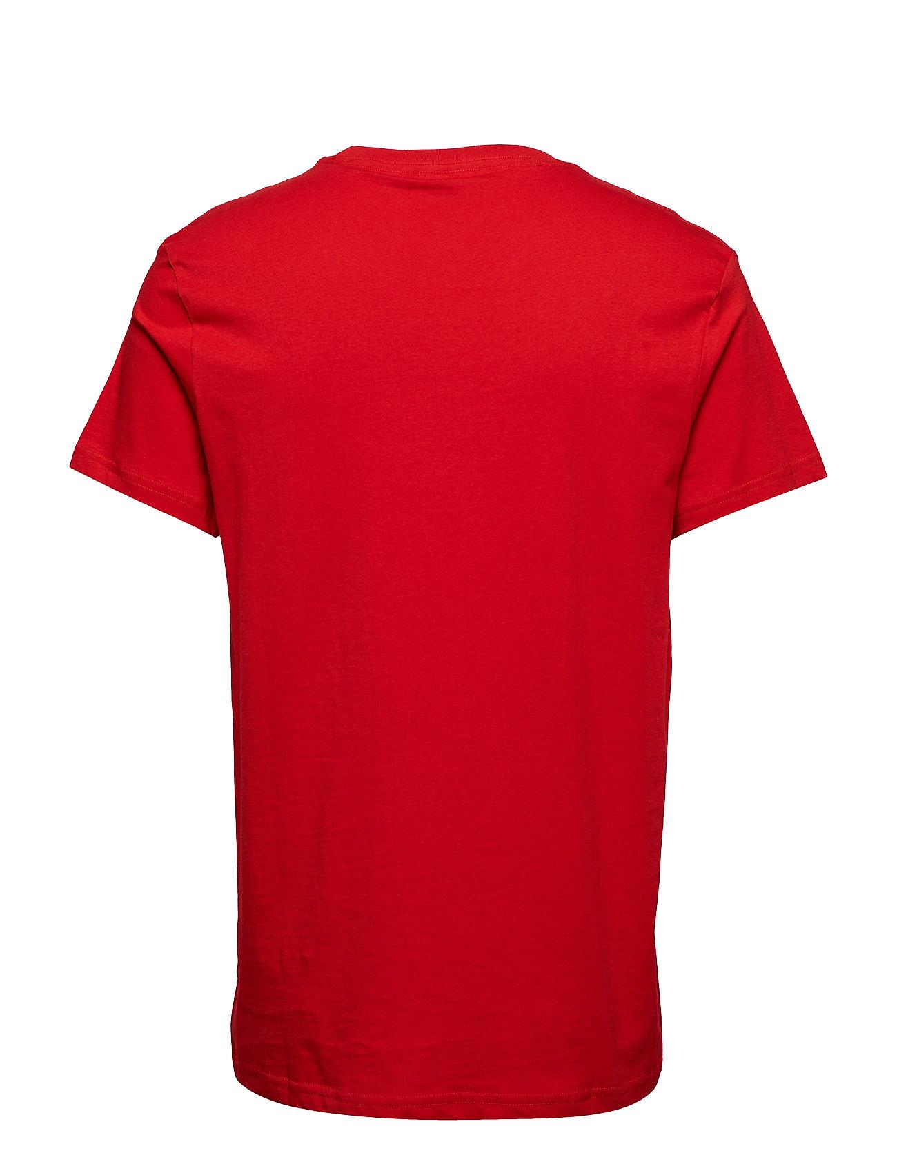 Standard Tee Cheap Review T shirt Rød CHEAP MONDAY