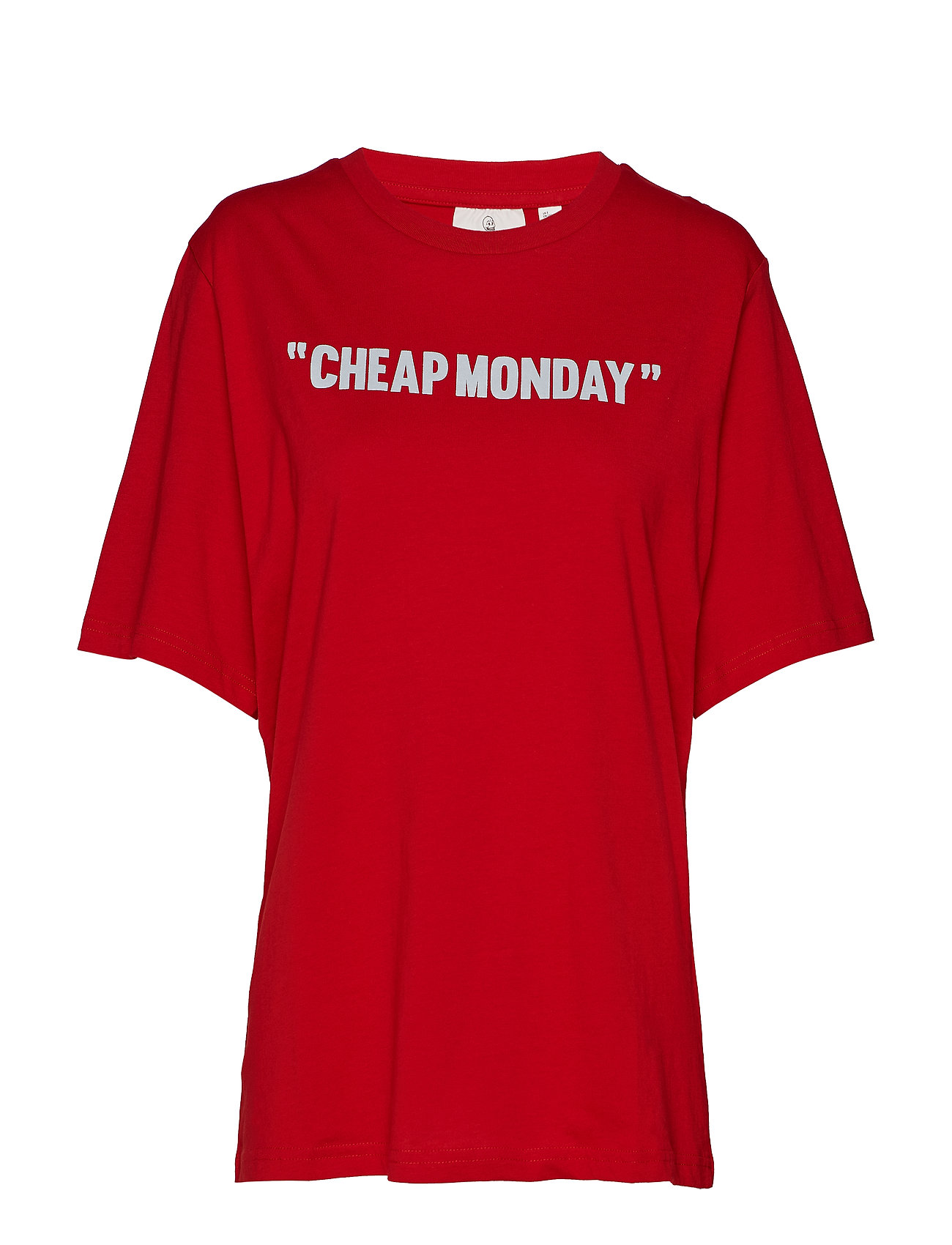 Cheap Monday Perfect tee Cheap review - RED
