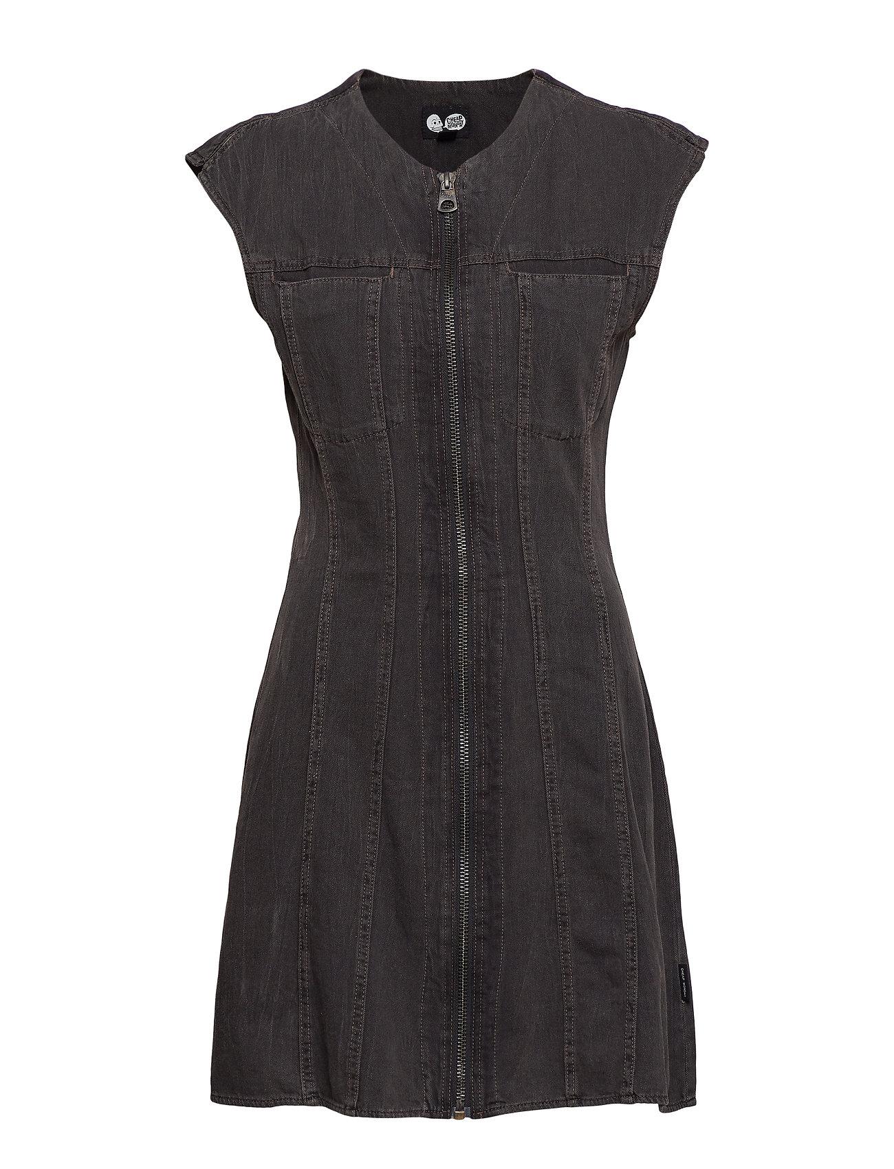 Cheap Monday Occult dress crinkle black