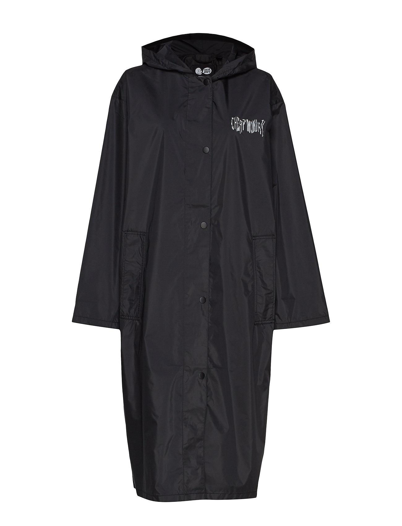 Cheap Monday Option coat Deffect logo