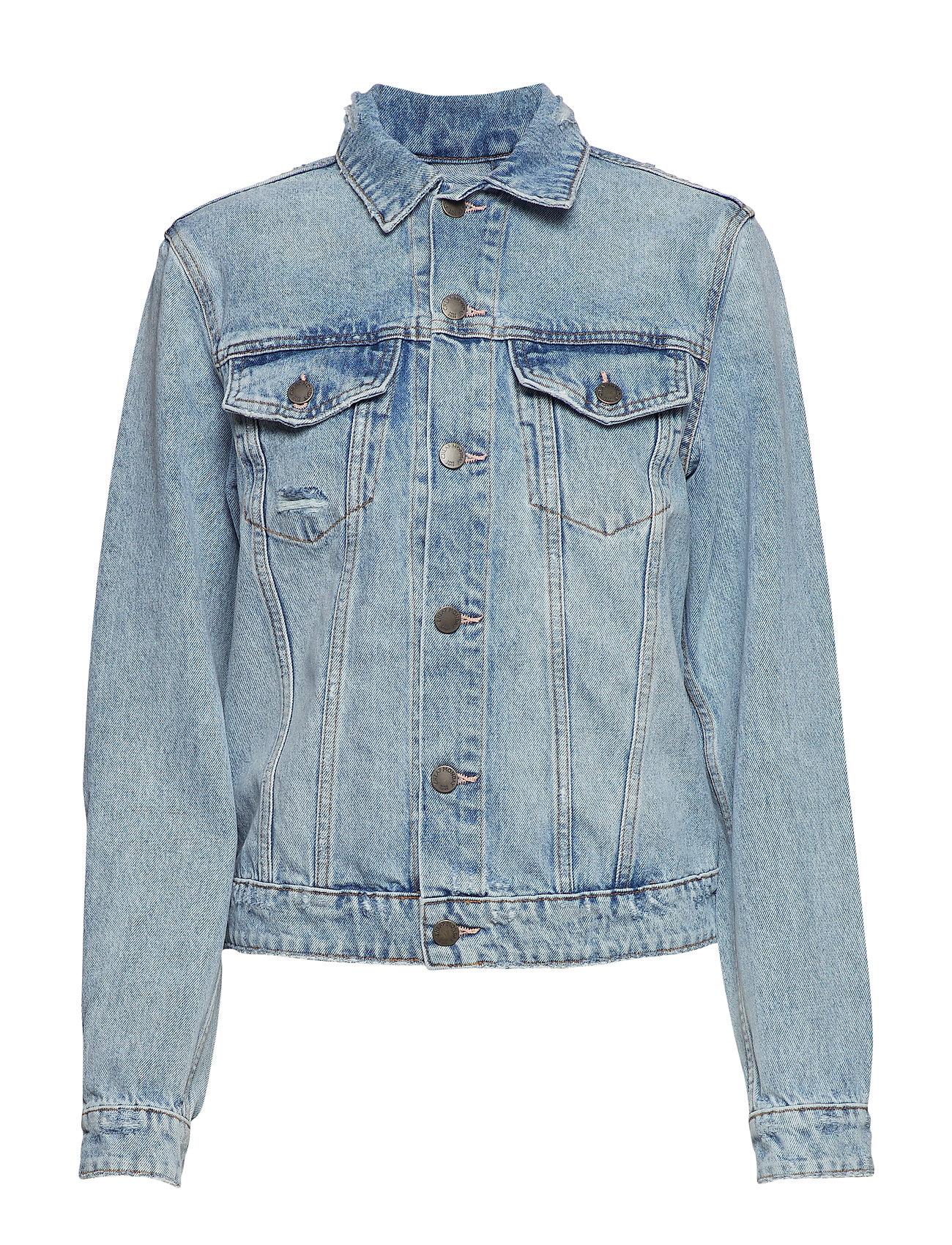 Cheap Monday Legit Jacket Air Blue Trash - BLUE