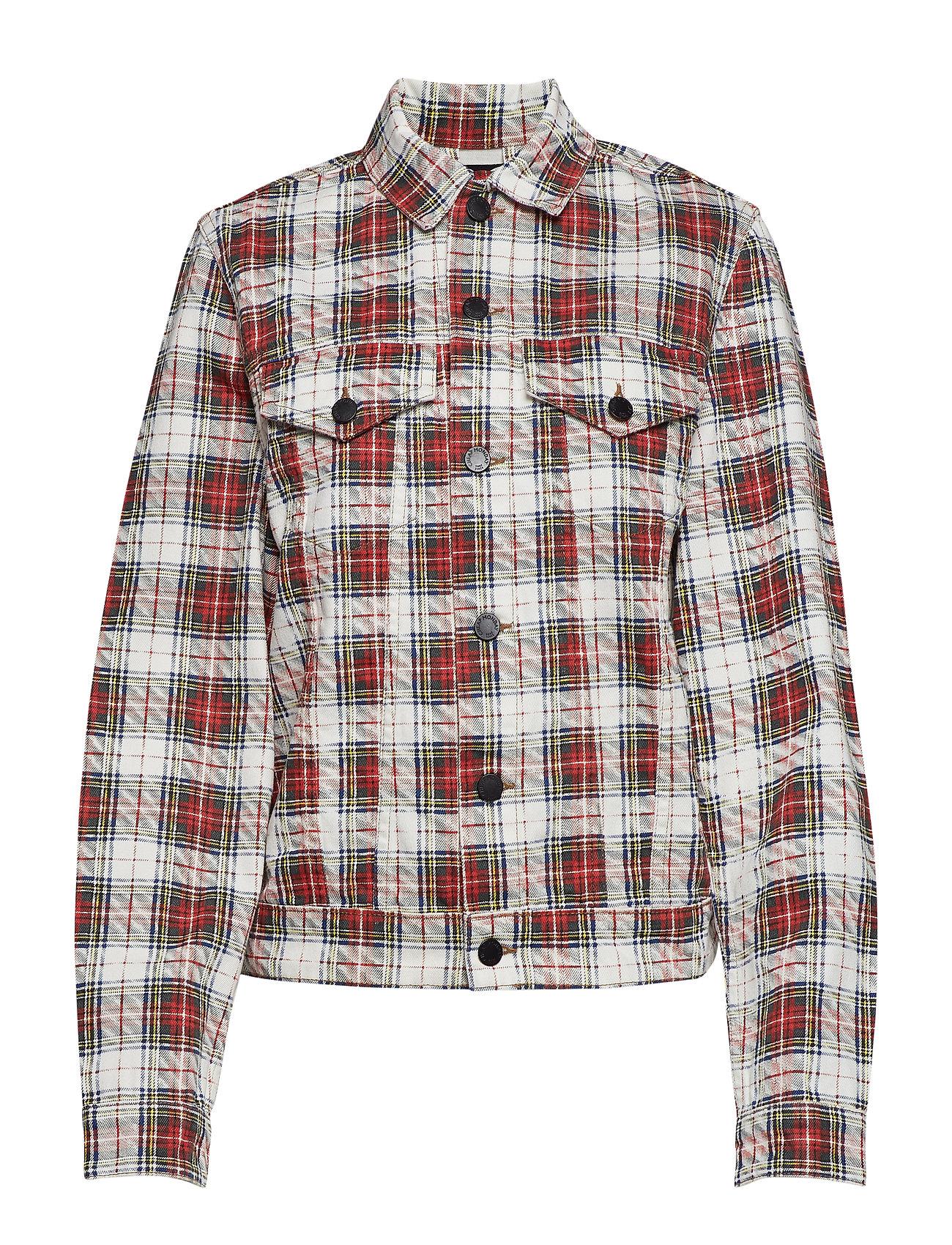 Cheap Monday Legit Jacket Relax Check - WHITE