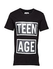 Standard Tee Teenage - BLACK