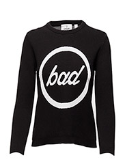 Total knit Bad - BLACK