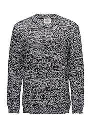 Midnight knit - WHITE