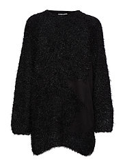 True knit Side star - BLACK