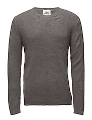 Curve knit - DARK GREY
