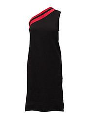 Mix dress - BLACK