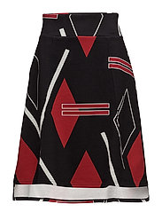 Ultra skirt Argyle - BLACK