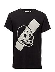 Standard tee Stijl skull - BLACK
