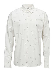 Arced shirt Direction - DRY WHITE