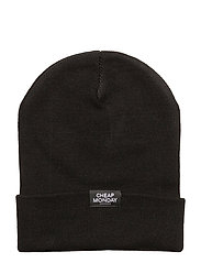 Cheap beanie - BLACK