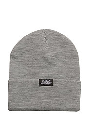 Cheap beanie - GREY MELANGE