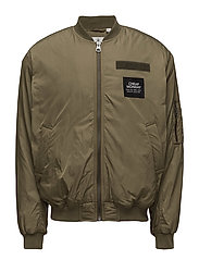 Ultimate bomber - MUD GREEN