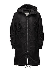 Fanatic parka - BLACK