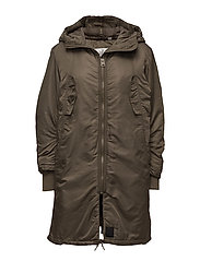 Fanatic parka - DARK GREEN